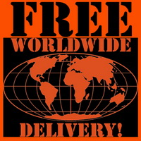 FREE WORLDWIDE DELIVERY!
