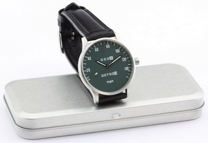 CB 750 speedometer mph watch with green dial