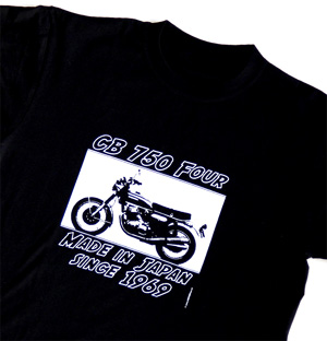 TShirt CB 750 Four Made in Japan since 1969