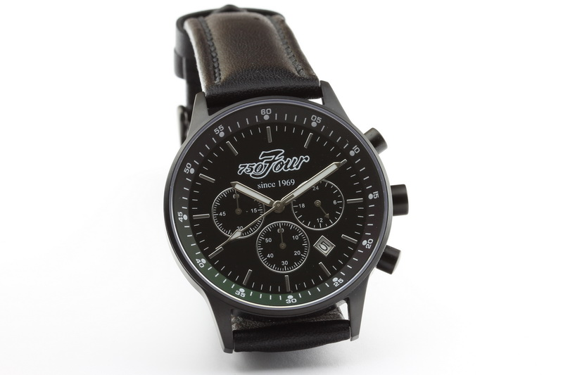 Matt black CB 750 Four chronograph